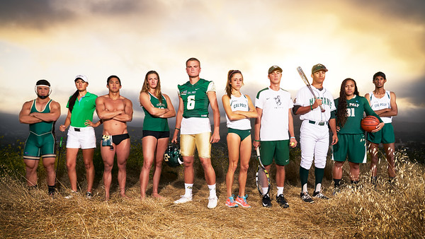 "CAL POLY ATHLETICS, ""Ten"""