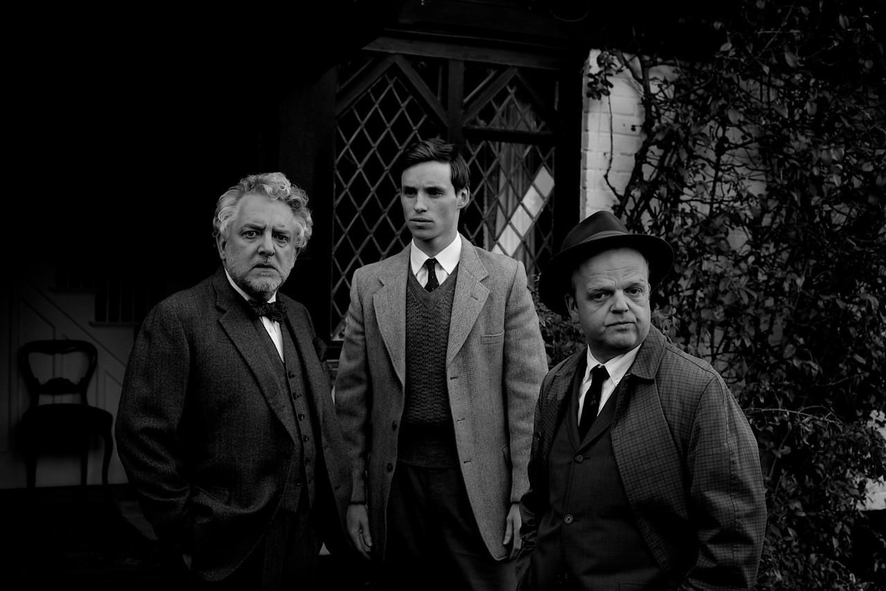 Simon Russell Beale. Eddie Redmayne. Toby Jones. London 2010