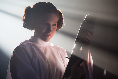 Sophia Bush as Princess Leia