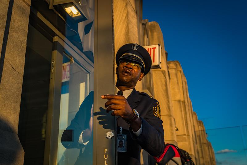 Rockefeller Doorman
