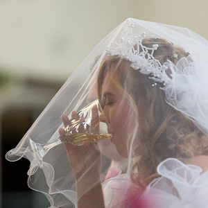 Communion during the wedding, the church plays a vital important role in the life of both the bride and groom.