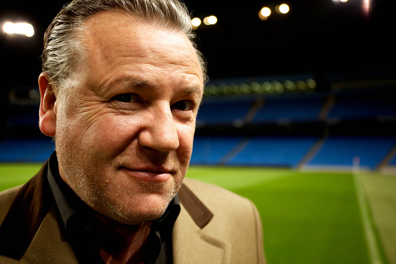 Ray Winstone. Manchester 2010