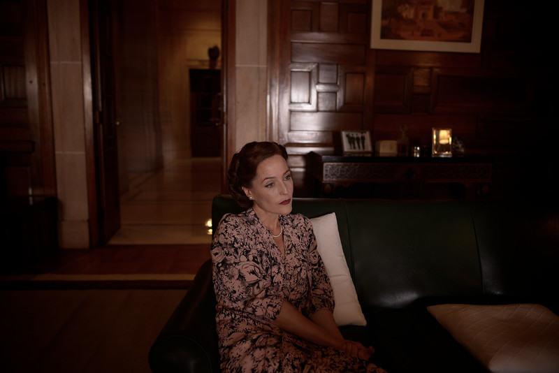 Gillian Anderson. Jodhpur India October 2015
