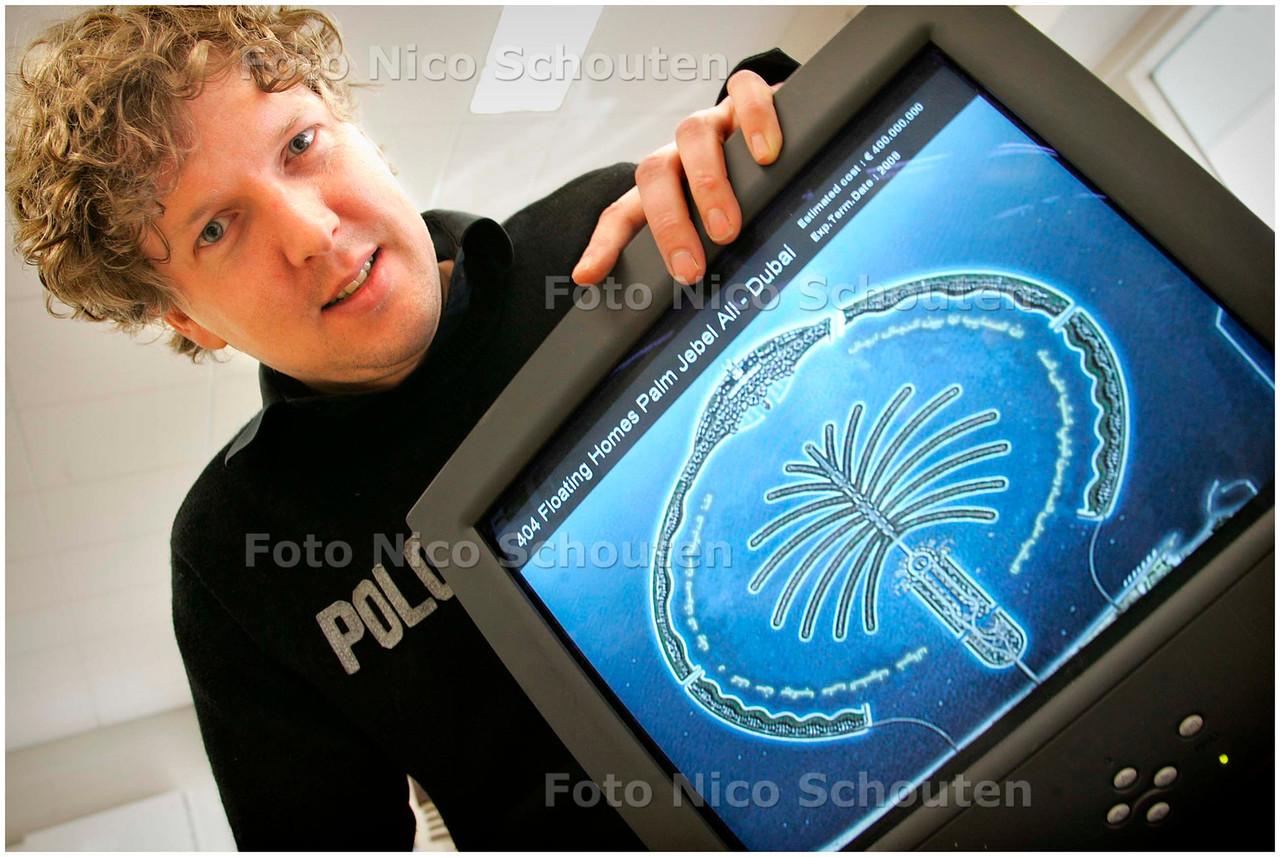 AD/HC - Koen Olthuis, architect, waterstudio.nl - RIJSWIJK 14 MAART 2007 - FOTO NICO SCHOUTEN