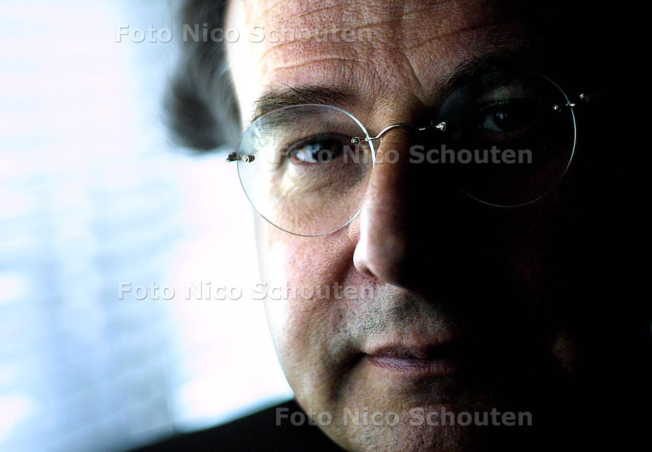 HC - REGISEUR GER THIJS - Theater aan het Spui - DEN HAAG 21 MEI 2003 - FOTO: NICO SCHOUTEN