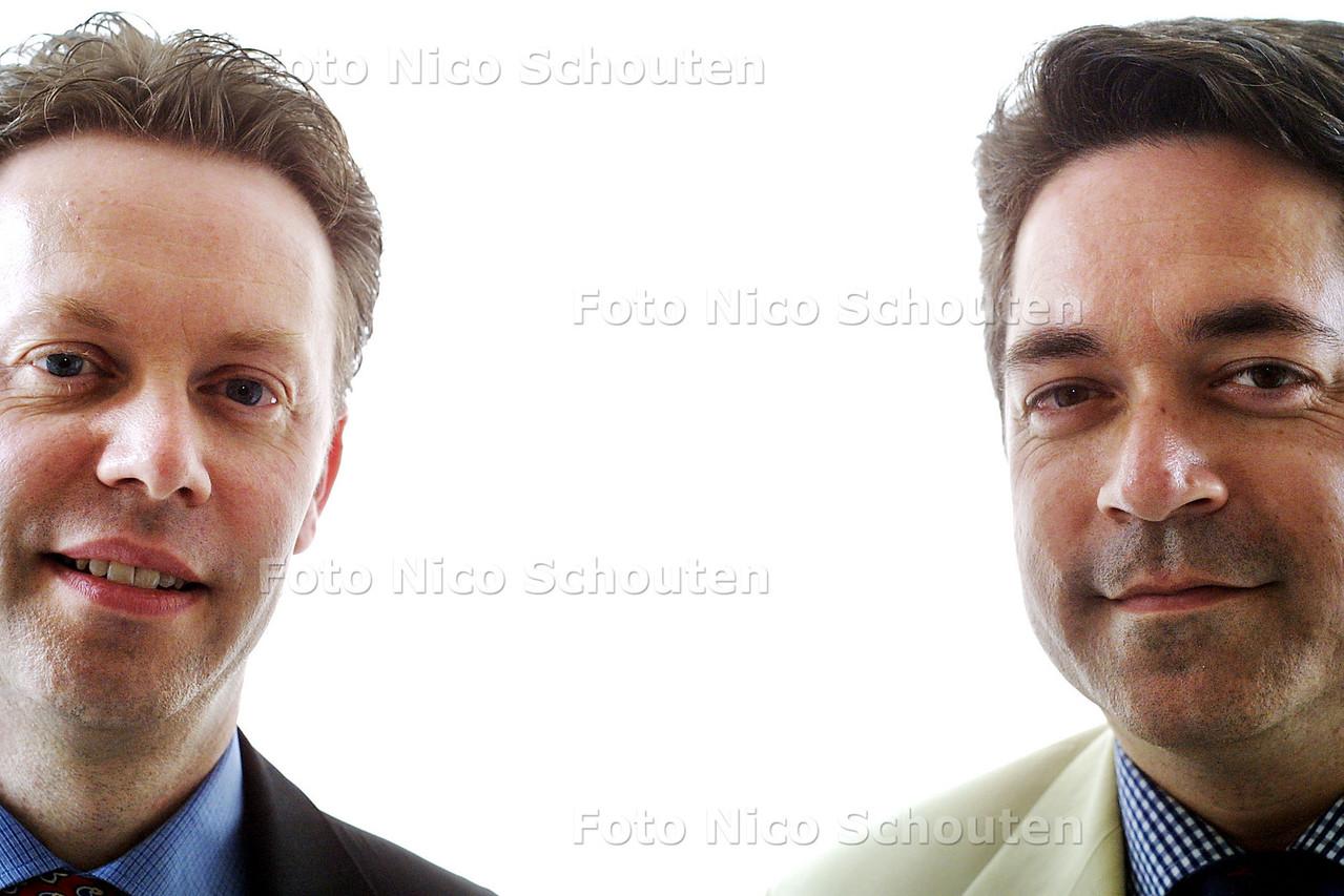 HC - ANDREW VAN ASCH (R) EN COLLEGA - DEN HAAG 27 MEI 2003 - FOTO: NICO SCHOUTEN