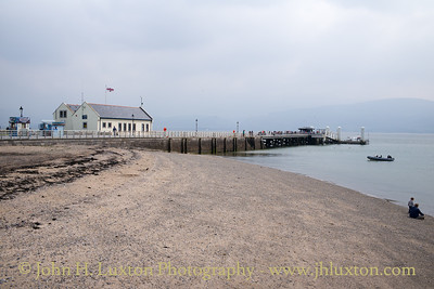 Beaumaris Pier, Anglesey, Wales - May 01, 2017