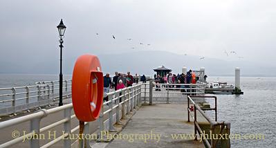 Beaumaris Pier, Anglesey, Wales - May 01, 2017