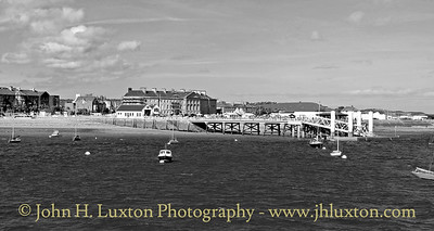 Beaumaris Pier, Anglesey, Wales - September 11, 2016