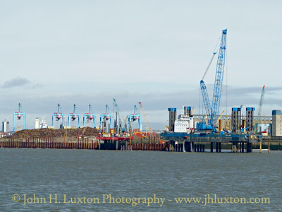 Liverpool 2 Container Terminal Construction Work - March 28, 2015