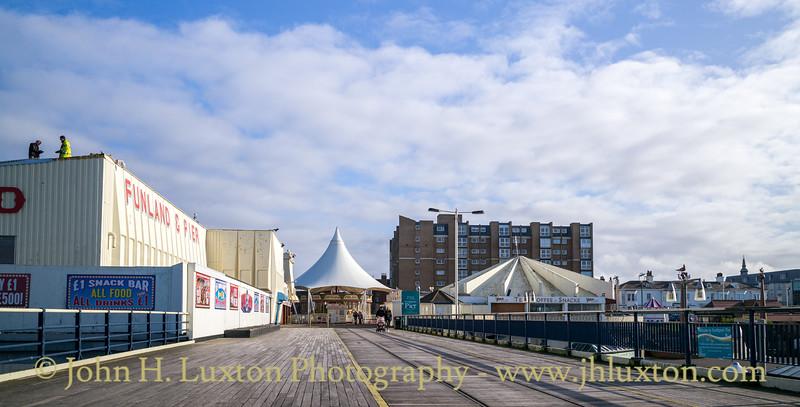 Southport Pier, Southport, Merseyside - February 13, 2020