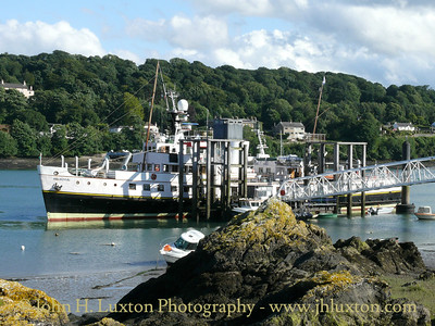 St. George's Pier, Menai Bridge, Wales - July 20, 2008