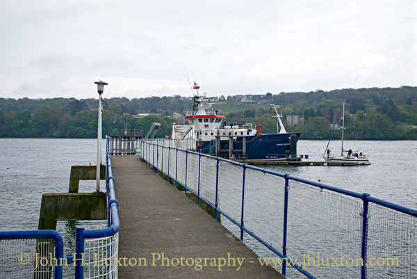 St. George's Pier, Menai Bridge, Wales - May 01, 2017