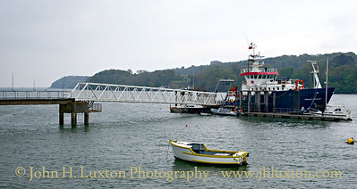 St. George's Pier, Menai Bridge, Wales - May 01, 2017