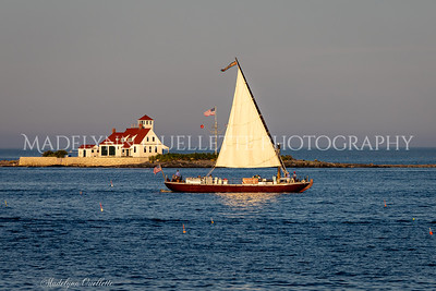 Evening Sail on the Piscataqua Gundalow