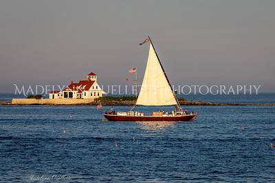 Evening Sail on the Piscataqua Gundalow