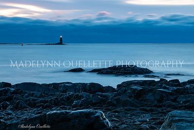 Whaleback Lighthouse at Sunrise