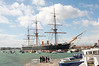 HMS Warrior - the world's 1st modern battleship (1860)