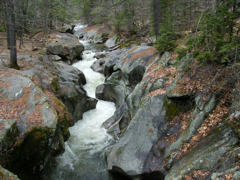 Sculptured Rocks - Groton, NH