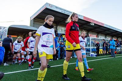 Southampton women v Portesmouth Women in the Senior Hampshire FA Final