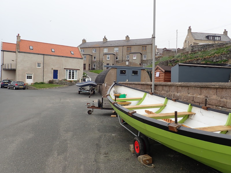 Portsoy medieval Harbour