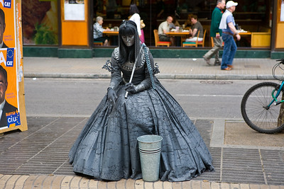 Mime on Las Ramblas