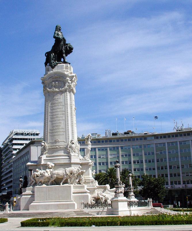 Marques de Pombal Monument - Lisbon