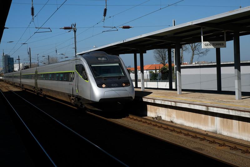 High speed service near Porto