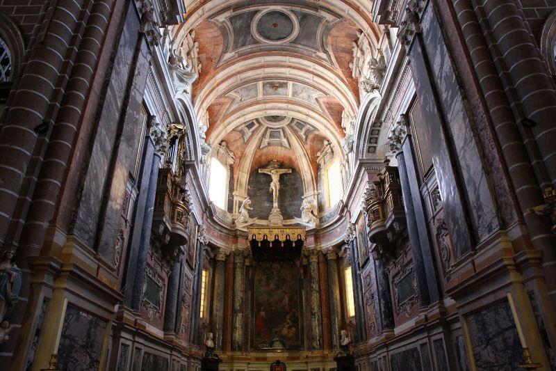Interior da Catedral de Évora