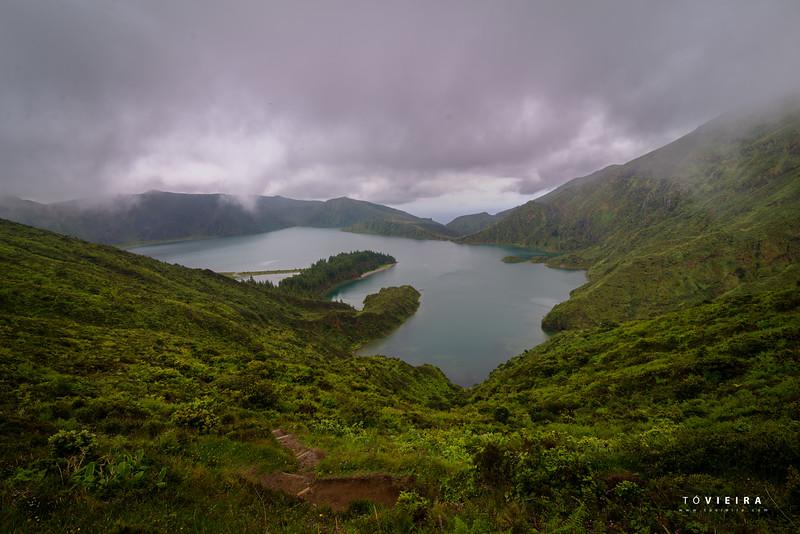 Lagoa do Fogo, Miradouro, S. Miguel, Açores