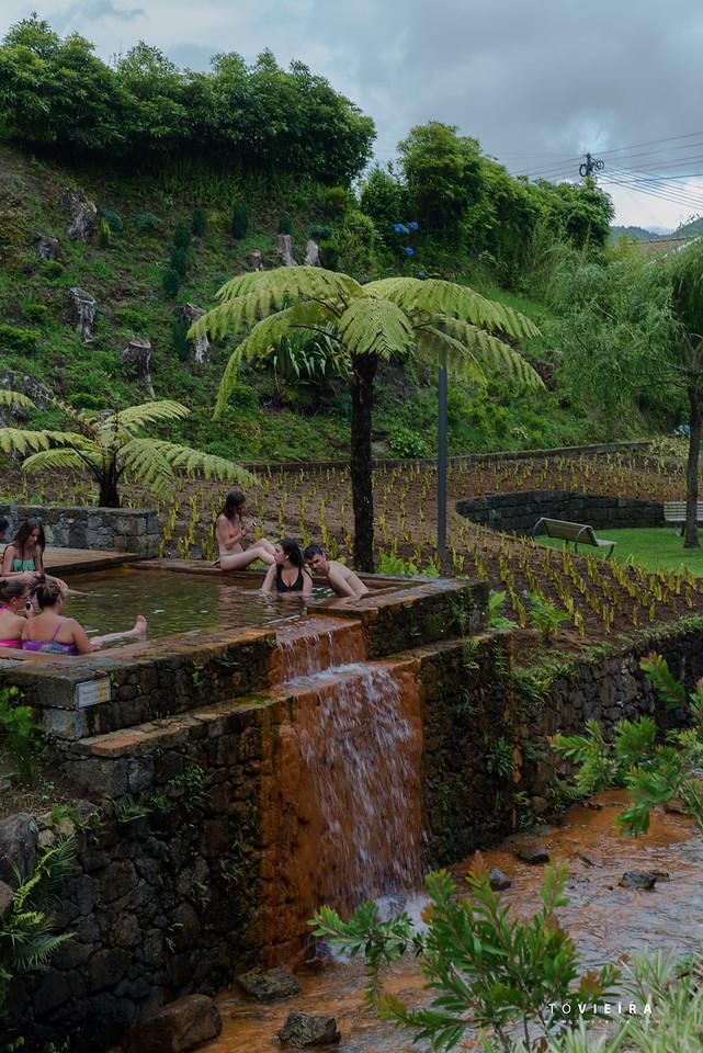 Poça D.ª Beija – banho termal, S. Miguel, Açores