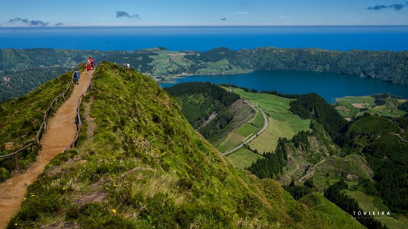 Lagoa das 7 cidades, Miradouro da grota do inferno. S  Miguel, Açores