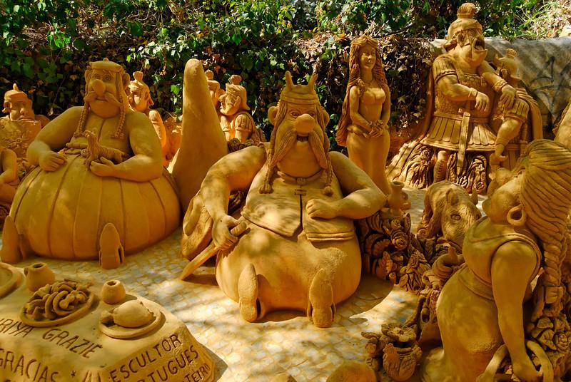 esculturas em areia<br /> Albufeira - Algarve
