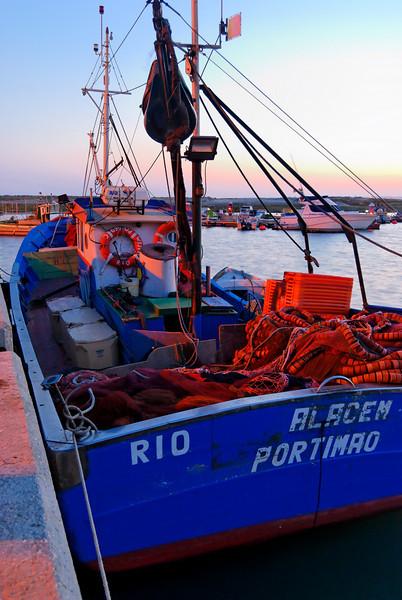 Alvor - Algarve<br /> Zona ribeirinha<br /> á noite