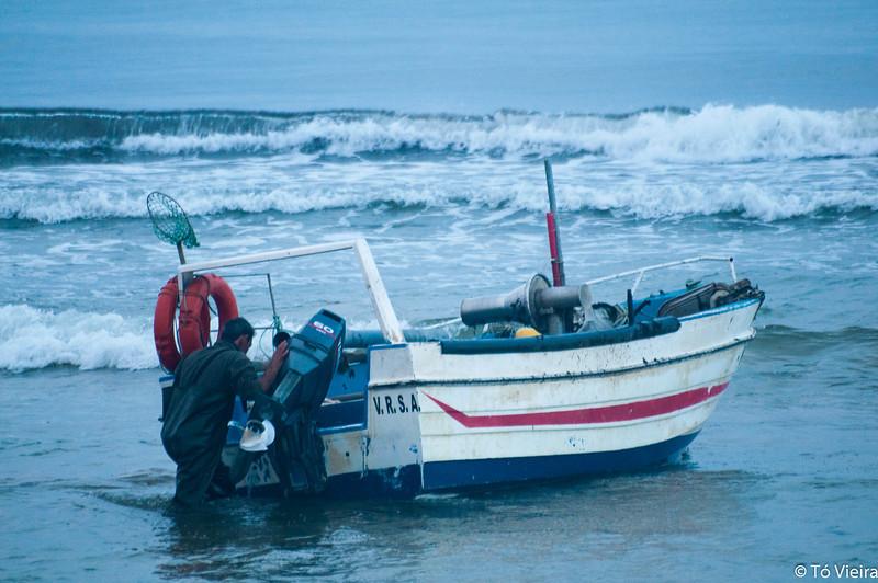 Saída para a pesca<br /> Monte Gordo - Algarve