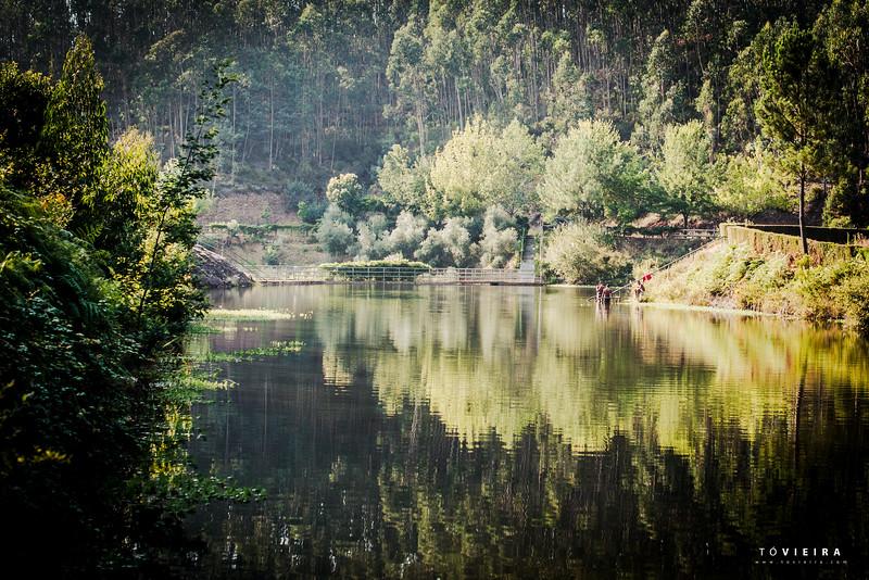 parque da barragem da Gralheira em ferreiros, moita, anadia, Aveiro