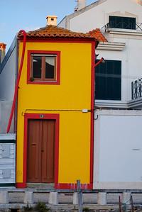 Fim de dia soalheiro de outono em Aveiro