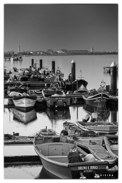barcos da ria - Costa Nova do Prado - Aveiro