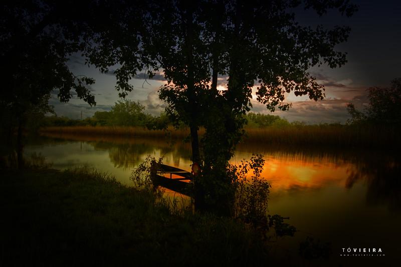 Sunset in Pateira