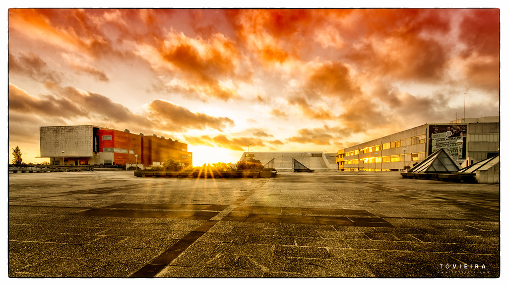 sunset - Universidade de Aveiro