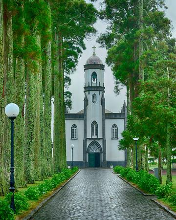 Church in Sete CidadesHDR