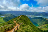 Hiking Azores Sao Miguel HDR