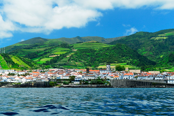 Vila Franca from the boat