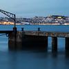 Cais do Ginjal e Lisboa ao fundo
