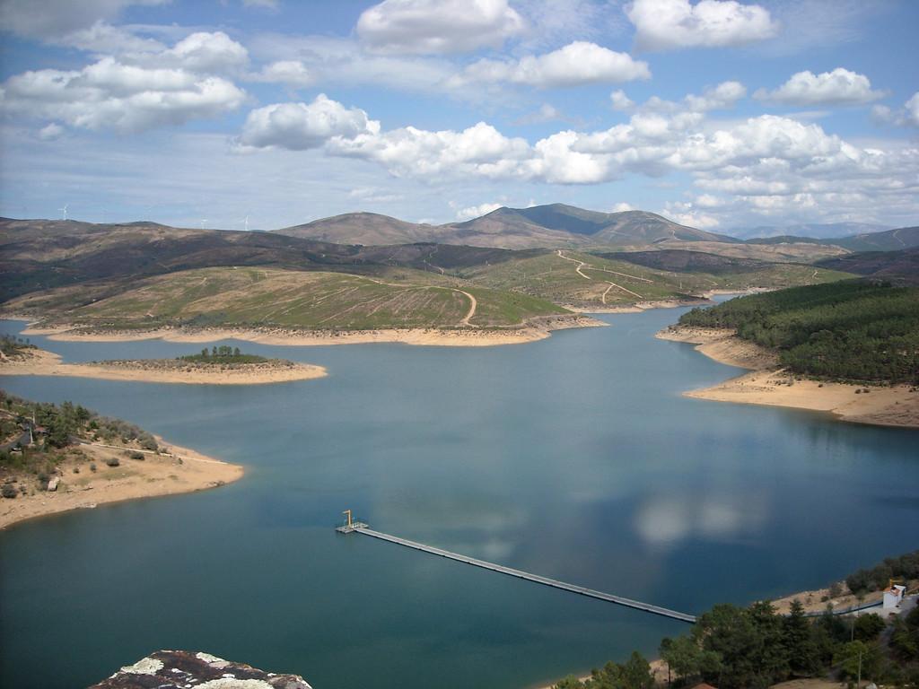 Barragem de Santa Luzia<br /> Foto MV