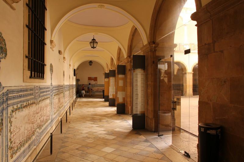 Interior da Universidade de Coimbra