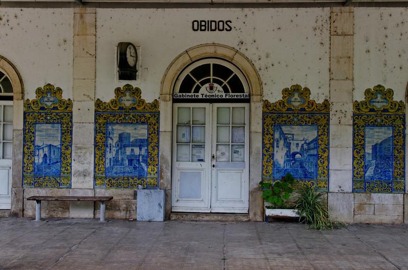 Estação de caminho de ferro de Óbidos - linha do oeste