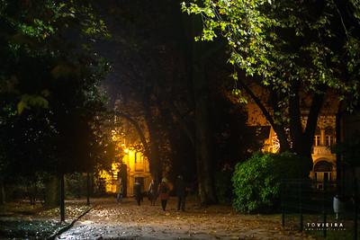 Parque D. Carlos I - Caldas da Rainha no Natal