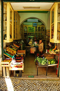 Alfama food market