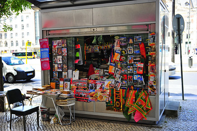 Sidewalk shop, (junk)